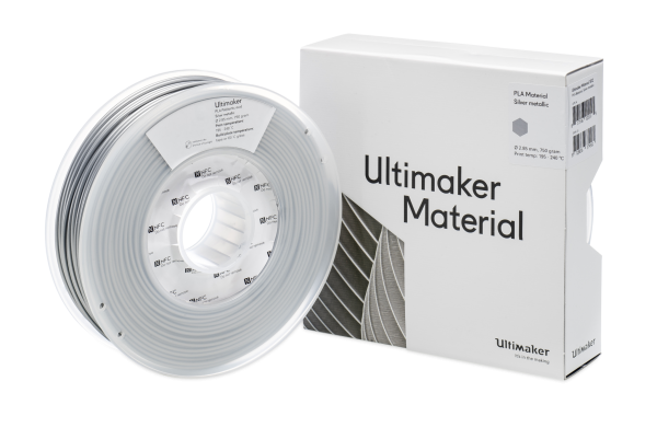 Ultimaker PLA silber metallic