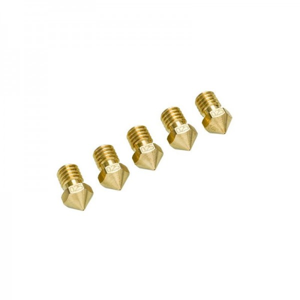 Ultimaker 2+ Nozzle Pack 5x0.25mm