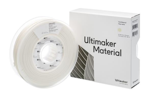 Ultimaker PLA Pearl White