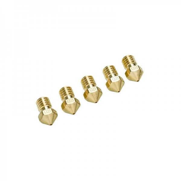 Ultimaker 2+ Nozzle Pack 5x0.80mm