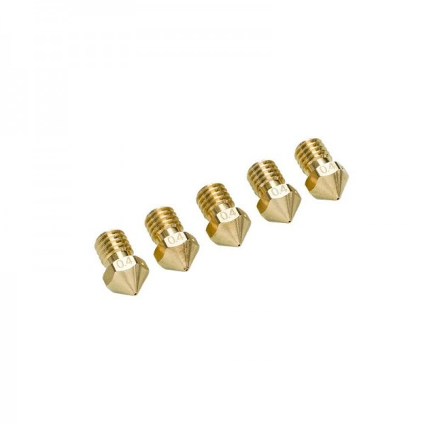 Ultimaker 2+ Nozzle Pack 5x0.40mm